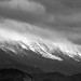 Small photo of Snow resting on Piatra Craiului rocky peaks