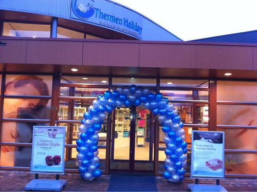 Ballonboog 6m Thermen Holiday Schiedam