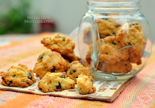 Crunchy Chocolate Chip Cookies 脆朱古力粒曲奇
