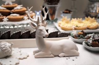 Deer on the dessert table