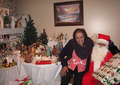 Mamá Toni and Santa Claus