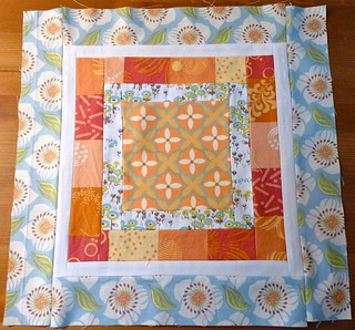Mod Stash Bee block for my quilt