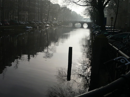 Dutch canal in colour