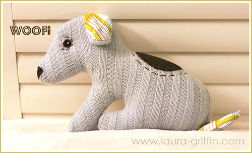 Luxe Cashmere Dog toy