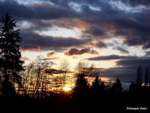 sunset red orange color awesome scenerybcscenerybritishcolumbialowermainlandwhiterock