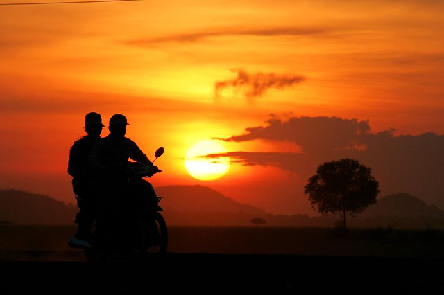 Motorcycle Sunset | Flickr - Photo Sharing!