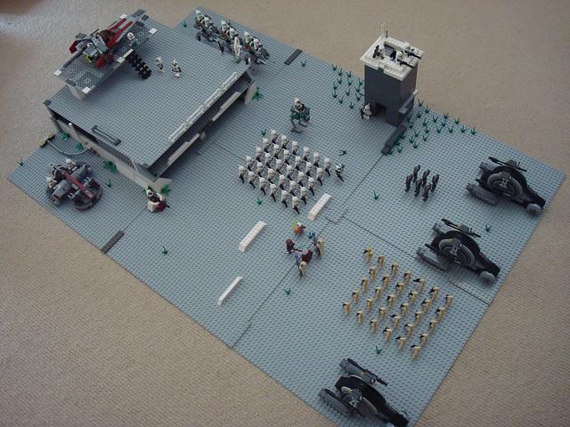 Lego star wars clone base moc 2 flickr photo sharing - Lego star wars base droide ...