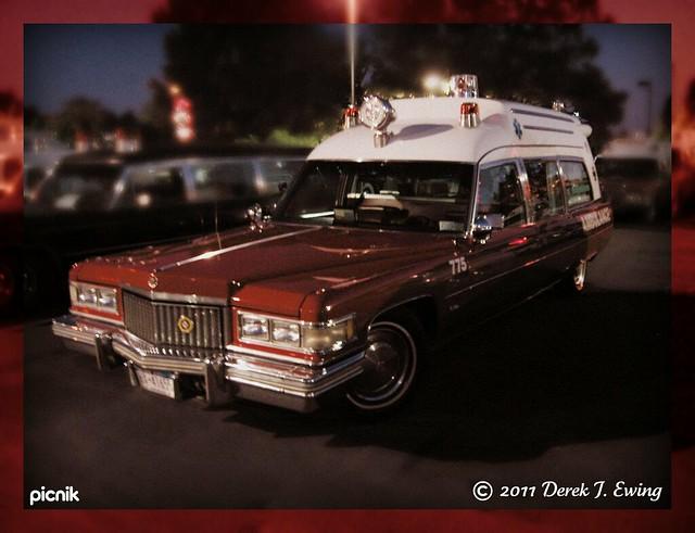 Classic Cadillac Ambulance (1975?)