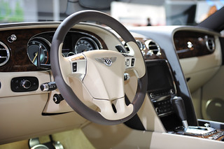 Bentley Continental GT at the 2011 Detroit Auto-Show