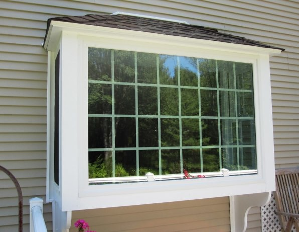 Andersen box bay window pictures to pin on pinterest for Box bay windows