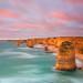 Sunset at Twelve Apostles by -yury-