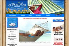 Una tienda online de una empresa de hamacas
