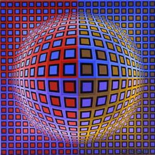 vasarely coloring pages - photo#21