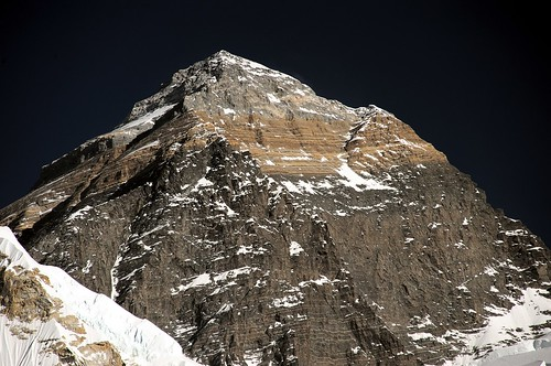 Everest summit close up