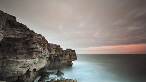 sunset seascape coast rocks northumberland seatonsluice nd12 rockyisland canonefs1022 collywellbay gnd075he gnd045se