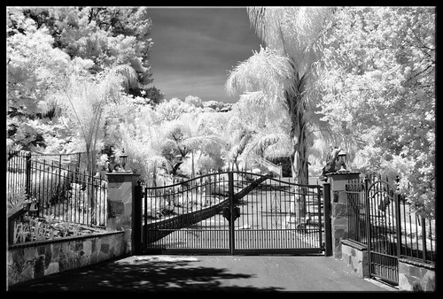 Pearly Gates Infrared