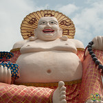 Laughing Buddha at Wat Plai Laem - Koh Samui, Thailand