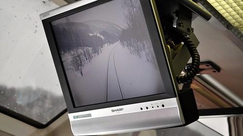 winter japan train video nikon hokkaido express limited 2010 abashiri driversview driftice d5000 okhotsknokaze