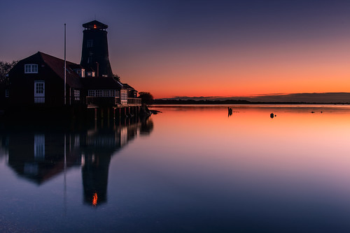 uk sunrise reflections still nikon harbour january peaceful hampshire calm lee nd filters grad southcoast oldmill tranquil d800 2014 langstoneharbour sunsetsnapper sunriseatthemill