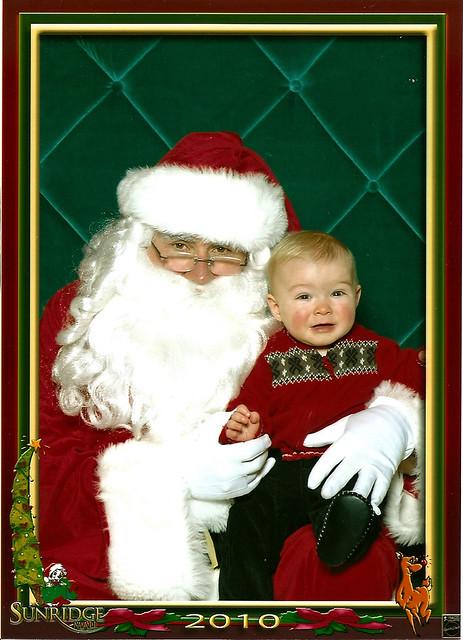 Braden Meets Santa