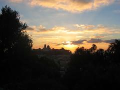 L'alba di casa mia