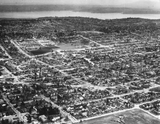 Aerial of northeast Seattle, 1959
