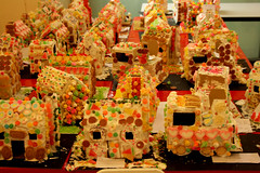 gingerbread house, sweetness, gingerbread, food,