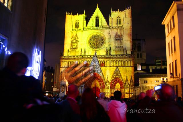 festa delle luci Lione Francia