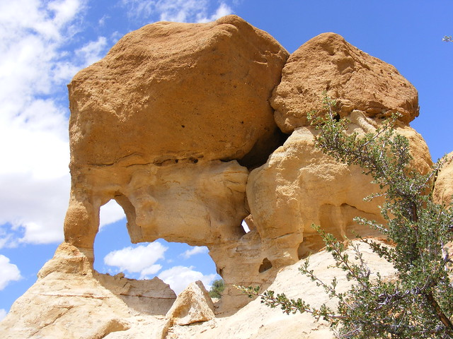 New Mexico Natural Arch NM-192 Alien Head Arch