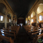 Inside Chonchi's Wooden Church - Chiloe Island, Chile