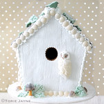 My Winter Woodland Gingerbread Bird House