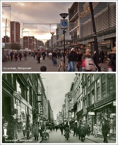 Rotterdam, Hoogstraat 1930 | 2010