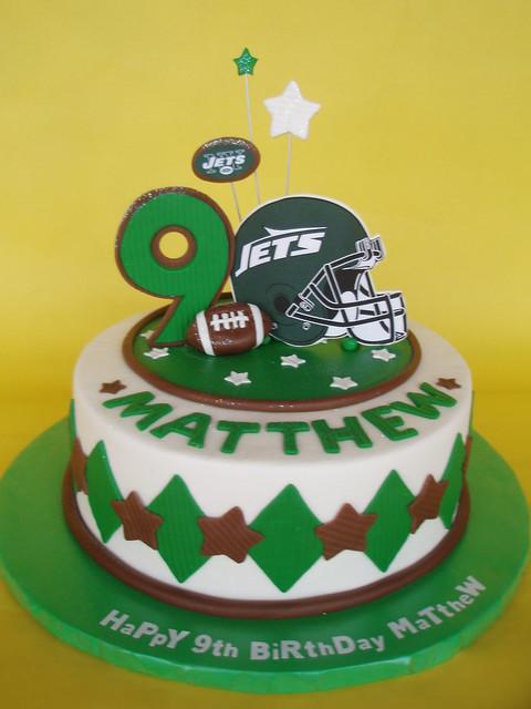 Ny Jets Birthday Cake