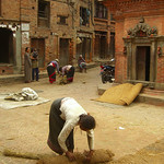 Closing Up for the Day - Bhaktapur, Nepal