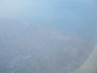 Taoyuan Airport, Taipei, Taiwan, ROC 中華民國 臺彎 臺北 桃園國際機場 from Asiana 722