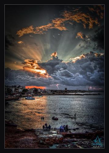 sea sky canon eos syria hdr lattakia 450d touraroundtheworld