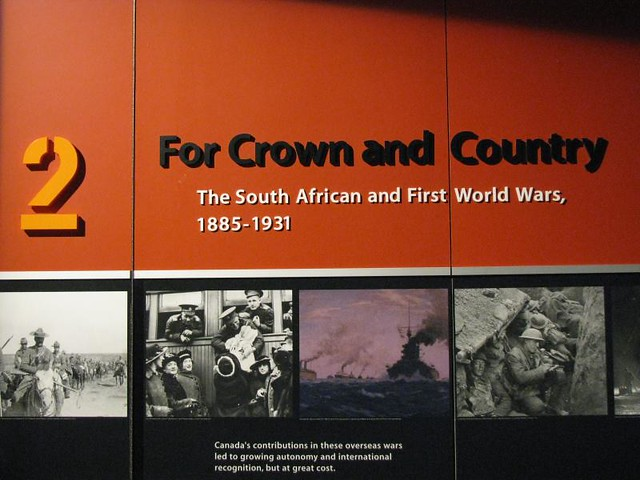 CWM 031 - For Crown and Country - The South African and First World Wars - 1885-1931