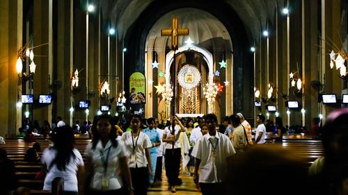 Tradiciones navideñas en Manila