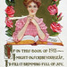 """Book of 1911"" vintage Happy New Year postcard"
