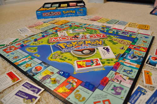 Pokemon Monopoly by Perosha