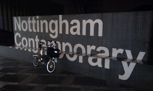 Brompton outside Nottingham Contemporary