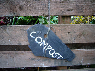 Compost Sign by Flickr Member Kirsty Hall