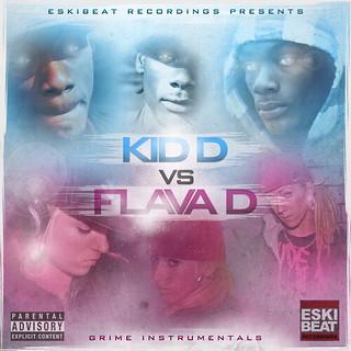 Kid D & Flava D CD Artwork