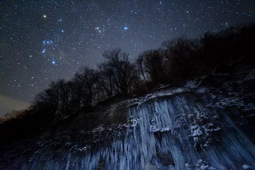 Star icefall by masahiro miyasaka