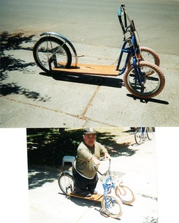 Whymcycle #103, Bounce Trike built  10-13-03, modified June '04 for Harry
