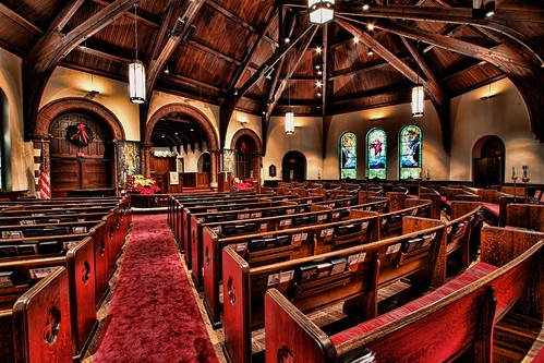 Trinity United Methodist Church Sanctuary