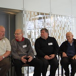 Al Alcorn, Donald Knuth, Steve Wozniak, Max Mathews, Francis Allen