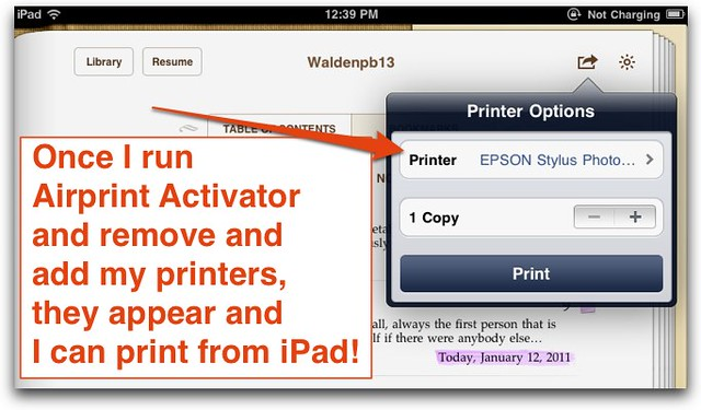 how to create an ibook on an ipad