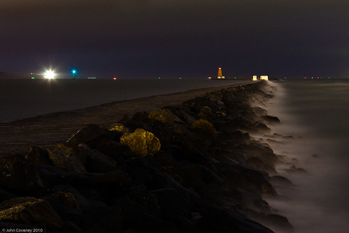 Night Lights at Poolbeg
