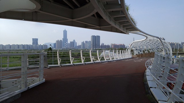 Foot/bicycle bridge